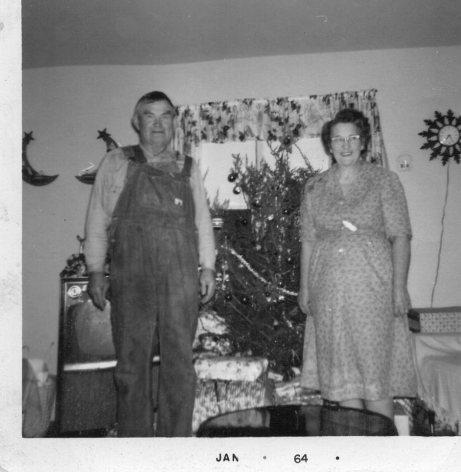 Jesse & Iva Pybas 1964